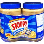 SKIPPY スキッピー スーパーチャンク ピーナッツバター ツインパック 2.72kg(1.36kg×2)