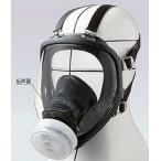重松 直接式小型全面形防毒マスク GM166 1個(面体のみ)
