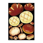 デコシールA4サイズ アンパン メロンパン アクリル 40241