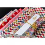 日本製 ランチョンマットDEご祝儀袋 中袋付き 和柄 梅(赤)