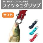 フィッシュキャッチャー 小型 バス釣り フィッシュグリップ 魚掴み 魚 釣り ステンレス 軽量 コンパクト R1068-JH