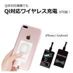 Qiレシーバー シート iPhone Android ワイヤレス充電 スマートフォン アイフォン スマホ 置くだけ充電 R1212-JH