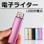 電子ライター USB 充電 スリム ライター おしゃれ プレゼント アーク放電 オイル ガス不要 R1254-JH