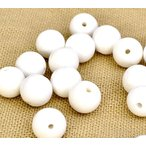 【天然石】【1玉】【3A】ホワイトオニキス(3mm玉)パワーストーン「パーツ/バラ売り/1粒売り/風水」