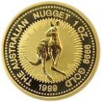 【新品未使用】【金貨】オーストラリア カンガルー金貨 1/10オンス硬貨 1/10oz(1986年〜)「コイン」