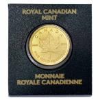 【新品未使用】【金貨】カナダ メイプルリーフ金貨 1グラム硬貨 1g(2014年〜)「コイン」