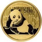 【新品未使用】【金貨】中国 パンダ金貨 1オンス硬貨 1oz(1982年〜)「コイン」
