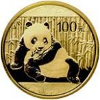 【新品未使用】【金貨】中国 パンダ金貨 1/4オンス硬貨 1/4oz(1982年〜)「コイン」