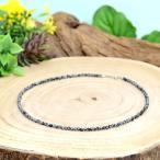 天然石 ネックレス スノーフレークオブシディアンを使用した数珠ネックレス 3mm玉|パワーストーン アクセサリー レディース メンズ