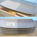 魚皿 長焼皿 白山陶器 重ね縞 25×11cm 魚プレート 和皿