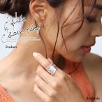 指輪 レディース アクセサリー ゴールド シルバー シンプル ヴィンテージ風 カジュアル 可愛い 太リング 13号