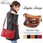 ショルダーバッグ レディース Legato Largo レガートラルゴ お財布ショルダー 大容量 多機能 斜めがけ フェイクレザー 鞄