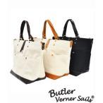 帆布鞄 キャンバスバッグ トートバッグ メンズ レディース バトラーバーナーセイルズ オイルレザー ガーデントートバッグ