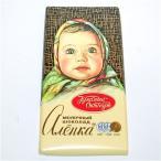 ロシアチョコレート レッドオクトーバー社「アリョンカ」100g 板チョコ