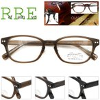メガネ 度付き 51サイズ 鼻パット付セル プラスチック クラシック レンズ付き眼鏡セット メガネ通販 めがね
