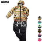 スキーウェア ニーマ nima ジュニア キッズ JR-8060 スキースーツ 上下セット 2009 スキー服