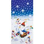クリスマス飾り タペストリー スノーマンスクリーン DITA6435