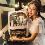 メイクボックス 化粧台 オシャレ メイク収納 持ち運び 透明 クリア コスメボックス 大容量 引き出し 化粧品ケース