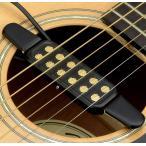 ギター ピックアップ アコースティックギター エレアコ 変換 穴開け不要