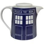 BBC公式 ドクターフー ターディス ティーポット Doctor Who Tardis Door Panel Blue Teapot 海外ドラマ グッズ