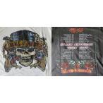 ヴィンテージ風 ロックTシャツ Guns N' Roses ガンズ アンド ローゼズ North American Tour 1989 UK Rock 英国 イギリス