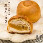 一粒栗入り焼き菓子「栗まんじゅう」10個恵那栗工房 良平堂