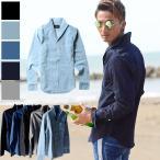 長袖シャツ デニムシャツ メンズ カジュアルシャツ ストレッチ 長袖 春 黒 M L XL メンズファッション 20代 30代 40代 50代 ちょいワル