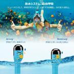 HENGBIRD シュノーケルマスク フルフェイス型 度付きレンズ装着可能 ダイビングマスク シュノーケリング マスク 水中メガネ 折畳み式