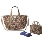★NEW  【送料無料】★  【ROOTOTE】 ルートート  マザーバッグ マミールー SC Cotton Quilting-A  Camo
