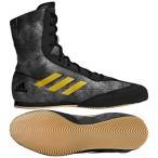 ショッピングラバーシューズ アディダス adidas Box Hog 2 プラス ボクシングシューズ (ブラック・ゴールド)