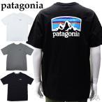 パタゴニア  38501 Tシャツ 半袖ホワイト ブラック グレーメンズ ロゴ Tシャツ アパレル (CPT) 父の日