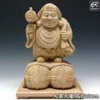 大黒天像 33cm 楠 木彫り 仏像
