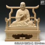 弘法大師 43cm 楠 木彫り 仏像