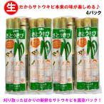 【送料無料】沖縄県産 生さとうきび(サトウキビ) 食用 400gパック×4