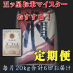 お米 米定期便 28年度米 送料無料 信州飯山産 特A米 一等米20kgX6回 をお届け精米したてで出荷します
