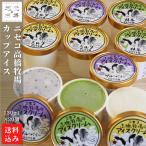 お歳暮 アイスクリーム 北海道 カップ (ミルク、チョコ、抹茶) 130ml ×20 (10個入2箱) ニセコ 高橋牧場 産直 ギフト アイス プレゼント 詰め合わせ 送料無料