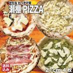 北海道 ピザ 4種詰め合わせ 21cm 4枚 (マルゲリータ フォルマッジョ ジェノベーゼ ベーコン) 冷凍ピザ 石窯 せたな町 わっかけ岩 送料無料