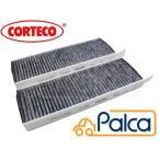 プジョー/シトロエン (室内用 エアコンフィルター/キャビンフィルター 活性炭) 3008 5008 C4ピカソI C4ピカソII C4グランドピカソI CORTECO製 6447XG,647993