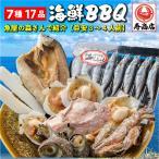 7種の海鮮バーベキューセット 詰め合わせ(冷凍便)2セット以上で送料無料&大磯屋焼きそば進呈/お歳暮・年越しに!ギフトにも