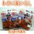 竹田食品(北海道函館) いか明太 250g×6袋  (塩辛・塩から)