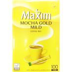 【韓国語版商品】 Maxim モカゴールドコーヒー 12g×100包