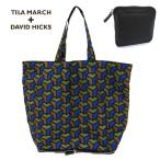 TILA MARCH ティラマーチ コラボモデル TM31BJCSHO 折り畳み可能 幾何学柄 トートバッグ エコバッグ ショッピングバッグ サイズ/ カラー200 20520
