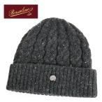 // Borsalino ボルサリーノ メンズ BS600 日本製  ウール混ネップニット ケーブル編み ニットキャップ ニット帽 帽子 カラー072 サイズ/フリー 6480++