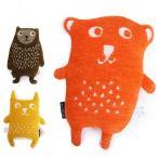 Yahoo!インポートセレクト museeKLIPPAN クリッパン Cuddly puppet Little bear カドリーパペット 6000 リトルベア  ぬいぐるみ  オーガニックコットン シュニールコットン  ギフト カラー3色