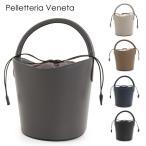 // Pelletteria Veneta ペレッテリアベネタ R0075 イタリア製 レザー バケツバッグ ハンドバッグ ミニトート ショルダーバッグ 巾着 カラー5色 17280++