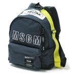 MSGM エムエスジーエム 2540MZ200 EASTPAK イーストパック コラボ リュック 2540MZ200 300/デニム ユニセックス