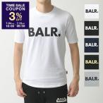BALR. ボーラー Brand Shirt (T-Shirt) クルーネック 半袖 Tシャツ カットソー ロゴT  5色 メンズ