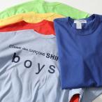 COMME des GARCONS コムデギャルソン S27908 カラー5色 クルーネック 半袖 Tシャツ バックロゴ カットソー メンズ