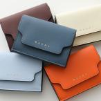 MARNI マルニ PFMOW02U07 LV520 カラー3色 レザー 三つ折り財布 ミニ財布 豆財布 レディース