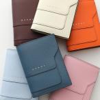 MARNI マルニ PFMOQ14U07 LV520 カラー4色 サフィアーノレザー バイフォールドウォレット レザー 二つ折り財布 レディース